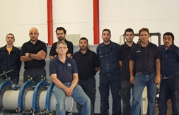 Coteinplast S.A. in Spain praise TWI's plastics welding team on their helpful support and thorough service